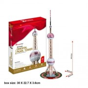 "CubicFun 3D Puzzle ""The Oriental Pearl Tower - Shanghai"""