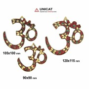Simbol OM Decor Rosu - 90-120 x 90-115 mm - 1 Buc