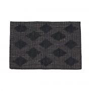 House Doctor - Cubie Fußmatte, 50 x 70 cm, schwarz