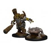 WizKids Wardlings Miniatures Mud Orc & Mud Puppy Case (6)