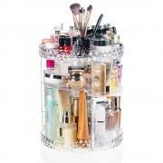 BeautyLushh akril sminkes kozmetikai rendszerező, forgatható 360°