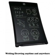 LCD Writing Tablet Screen Board Kids Message Handwriting Drawing 8.5 Inch(Black)