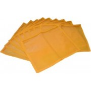 Ajabh High Quality Pack of 6 Yellow Bridal Single saree travelling bag case Gift Organizer bag vanity pouch Keep saree/Suit/Travelling Pouch(Yellow)