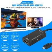 ER MHL Micro USB Giratorio Terminal HDMI De La Madre