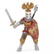 Figurina Papo-Cavaler rosu cu vultur