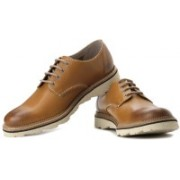 Clarks Frelan Walk Corporate Casuals For Men(Tan)