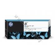 Мастило HP 81, Light Cyan (680 ml), p/n C4934A - Оригинален HP консуматив - касета с мастило