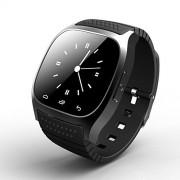 YOTHG Reloj inteligente M26 con Bluetooth, resistente al agua, digital, visualización táctil, reloj desbloqueado