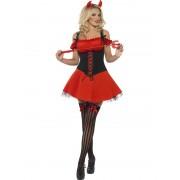 Costum Halloween adulti Diavolita Rea, Rosie
