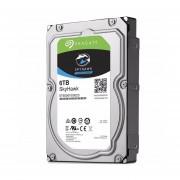 Disco Duro 3.5 Seagate 6 TB SATA 3 256MB SkyHawk Videovigilancia ST6000VX0023-Gris