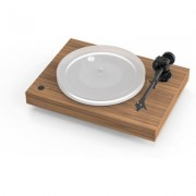 Pro-Ject X2 Satin Walnut turntable w/ Moonstone cartridge
