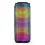 Auna Dazzl pro Altavoz inalámbrico Bluetooth 4.0 Efecto de luz LED USB MicroSD (BTS18-Dazzl pro)