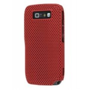 Nokia E71 Slim Mesh Case - Nokia Hard Case (Burgundy Red)