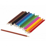 Merkloos Budget kleurpotloden 24 stuks