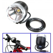 CREE T6 LED 900 Lumens Super Bright Bike Lights / Mountain Bike Lights / Highway Lights(Silver)