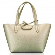 Patrizia Pepe Borsa Donna Shopping reversibile Gold/Taupe 2V5516