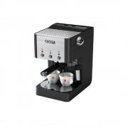 Espressor Gran Gaggia Deluxe + CADOU o sticla de decalcifiant (Inox / Negru)