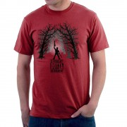 Cloud City 38519 De Comeback Ash Vs Evil Dead Straight Outta pensionering mäns T-Shirt Cherry Red X-Large