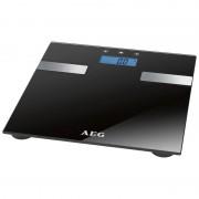 AEG PW 5644 - Báscula de análisis corporal de 7 funciones, de cristal y acero inoxidable
