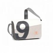 360° Taschen 360° Barkasse Mini Segeltuchtasche Tweed Keflar / Zahl grau
