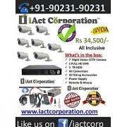 CCTV Camera Chandigarh Offer:-7 CCTV Cameras Kit