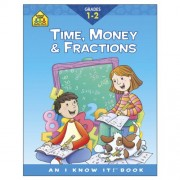 Curriculum Workbooks 32 Pages-Time, Money, Fractions Grades 1-2