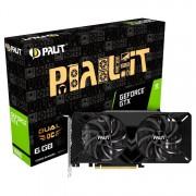 VC, PALIT GTX1660 Dual OC, 6GB GDDR5, 192bit, PCI-E 3.0 (4710636270680_3Y)
