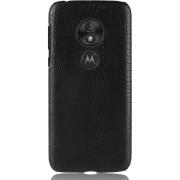 Mobigear Krokodil Shockproof Hoesje Zwart Motorola Moto G7 Play