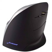 Evoluent VMCR VerticalMouse C Right Hand Ergonomic Mouse with Wired USB Connection (Regular Size)