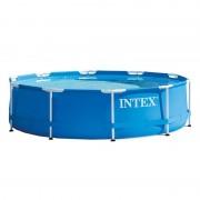 Piscina rotunda Intex, 305 x 76 cm, cadru metalic, sistem filtrare inclus