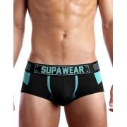 Supawear Cyborg Trunk Underwear Bionic Blue U31CYBB