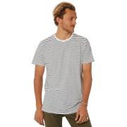 Swell Basic Mens Stripe Tee Off White