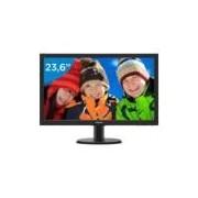 Monitor para PC Full HD Philips LCD Widescreen - 23,6 243V5QHABA