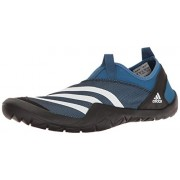 adidas Outdoor Men's Climacool Jawpaw Slip-on Water Shoe, Core Blue/White/Black, 9 M US