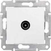 SEDNA TV aljzat 1 db IP20 Fehér SDN3201621 - Schneider Electric