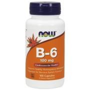 NOW Foods Vitamina B-6 100mg 250 caps
