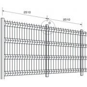 Set de gard ECONOMIC din panou zincat H 170 cm