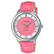 Casio Enticer Ladys Analog Red Dial Womens Watch-A1235 (LTP-E141L-4A2VDF)