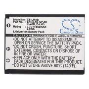 CS Battery Cameron Sino Batería de repuesto para Olympus Stylus 740, Stylus 750, Stylus 760, Stylus 770 SW Stylus 770SW, Stylus 780, Stylus 790SW Stylus 820, Stylus 830 (3,7 V, 660 mAh)