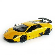 RMZ City - 1/32 Lamborghini Murcielago LP670-4 SV Diecast Scaled Model (Yellow)