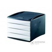 "Suport pentru documente Fellowes ""Green2Desk"" 4 sertare, plastic, alb (0019101)"