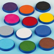 Snazaroo Face Paints - 18ml Snazaroo Face Paint Pots. Washes off with soap and water.