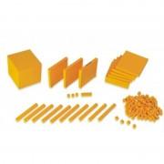 Joc educativ Baza 10 set 121 piese la cutie Miniland