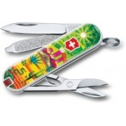 Victorinox Classic - Mexican Sunset - Limited Edition 2018 Swiss Army Knife(Green)
