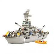 Sluban Klocki Sluban Navy krążownik z załogą (M38-B0126)