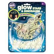Brainstorm Toys B8624 Glow Stars and Dinosaurs