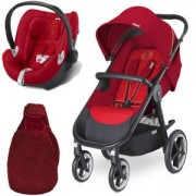 Бебешка количка Cybex Eternis M4 Hot and Spicy Travel System, TravelHotandSpicy