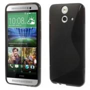 B2Ctelecom HTC One E8 TPU Case S-shape Zwart