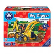 Orchard Toys Big Digger, Multi Color