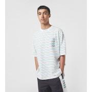 Fred Perry x Beams Stripe T-Shirt, vit